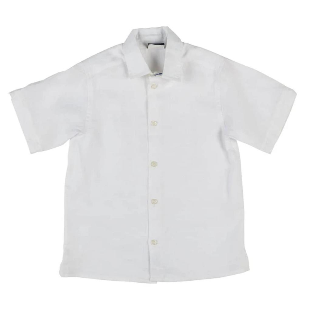 Florence Eiseman Florence Eiseman White Linen Shirt