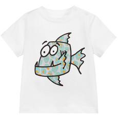 Stella McCartney Stella McCartney Tshirt Fish SS20