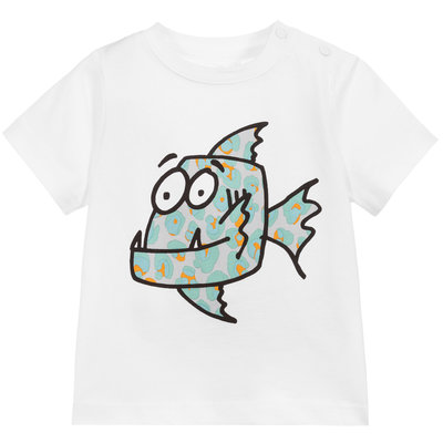 Stella McCartney Stella McCartney Tshirt Fish SS20