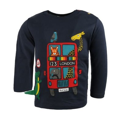 Paul Smith Paul Smith Tshirt LS London Animal Bus