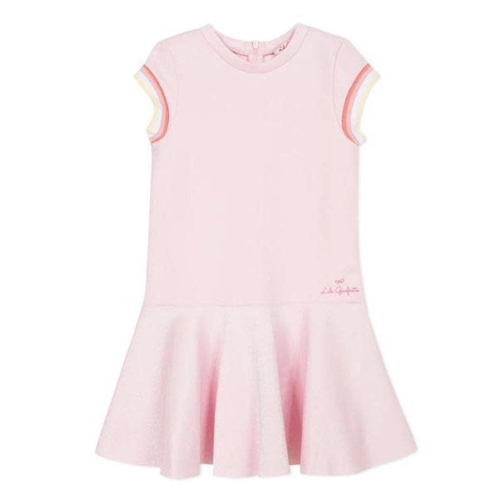 Lili Gaufrette Lili Gaufrette gwendoline dress pink