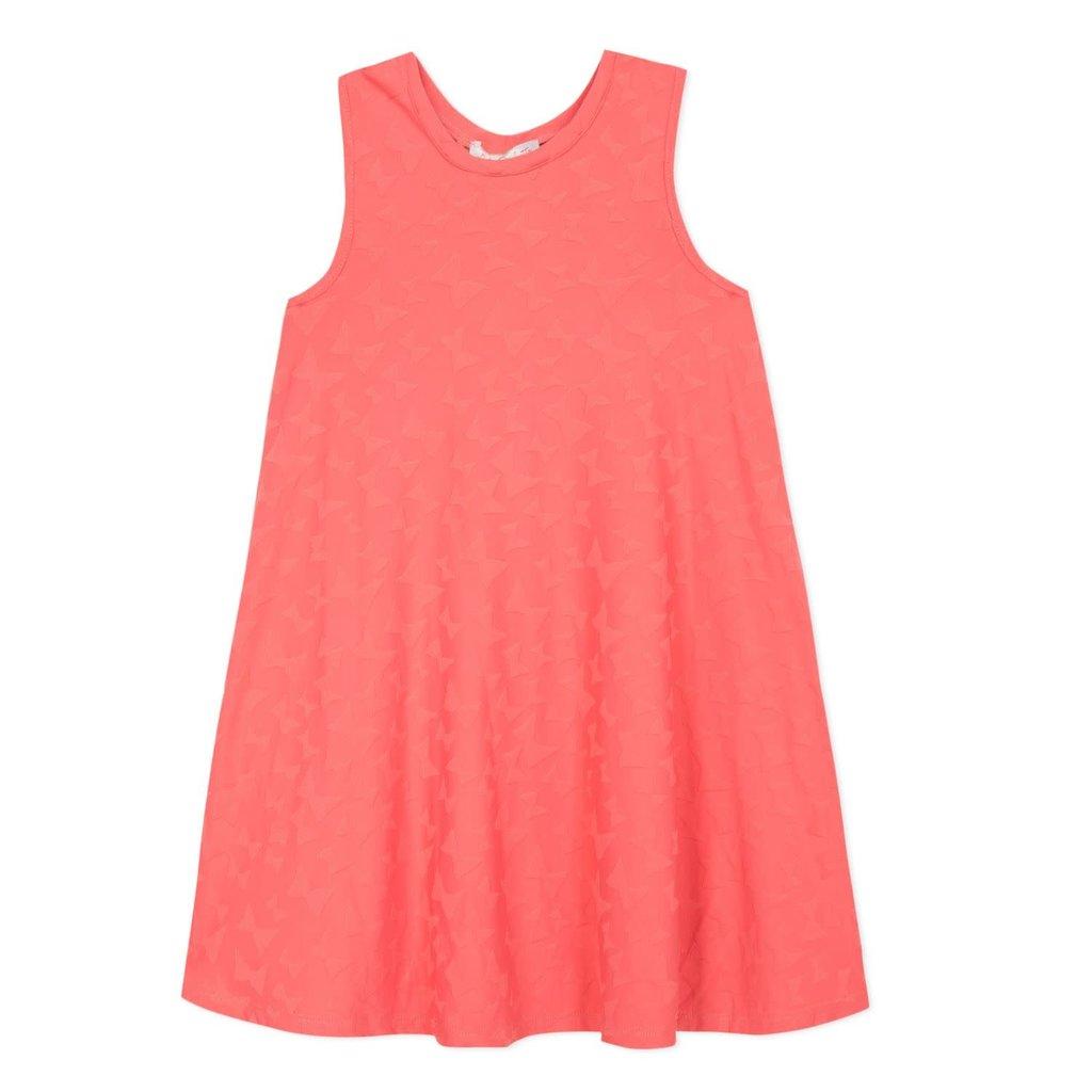 Lili Gaufrette Lili Gaufrette Coral Pink Dress