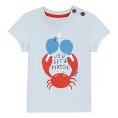 Jean Bourget Jean Bourget Bleu Crab T-Shirt
