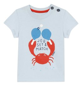Jean Bourget Jean Bourget T-Shirt SS Azur Crab SS20