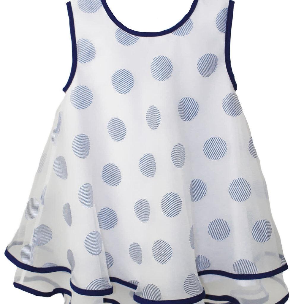 Isabel Garreton Isabel Garreton Navy Dot Dress