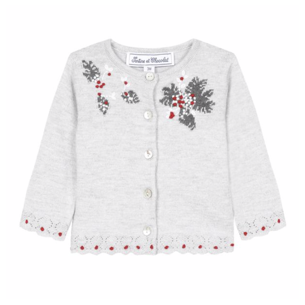 Tartine et Chocolat Tartine et Chocolat embroidered sweater