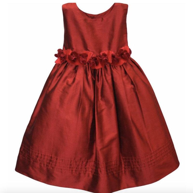 Isabel Garreton Isabel Garreton Dress Red Silk 4y