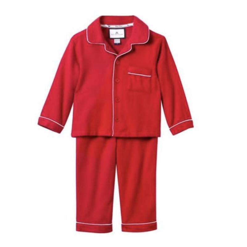 Petite Plume Petite Plume Classic Red Flannel PJ