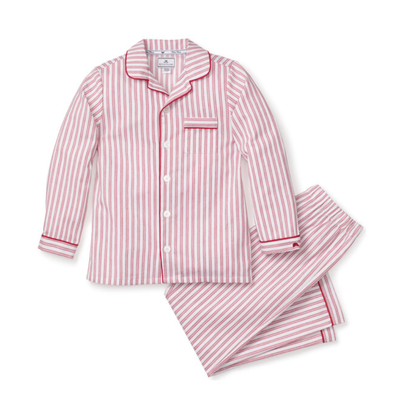 Petite Plume Petite Plume Red Ticking PJ