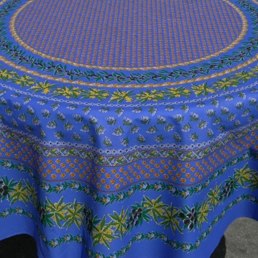 Le Cluny Le Cluny Tablecloth Olives & Mimosas