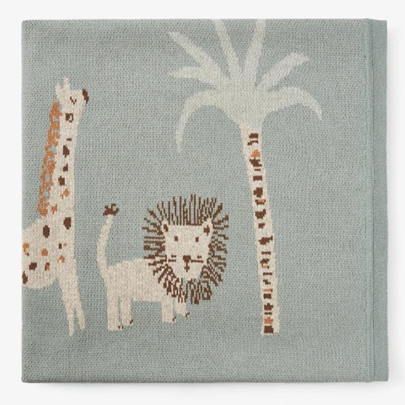 Elegant Baby Elegant Baby Leo Lion Knit Blanket