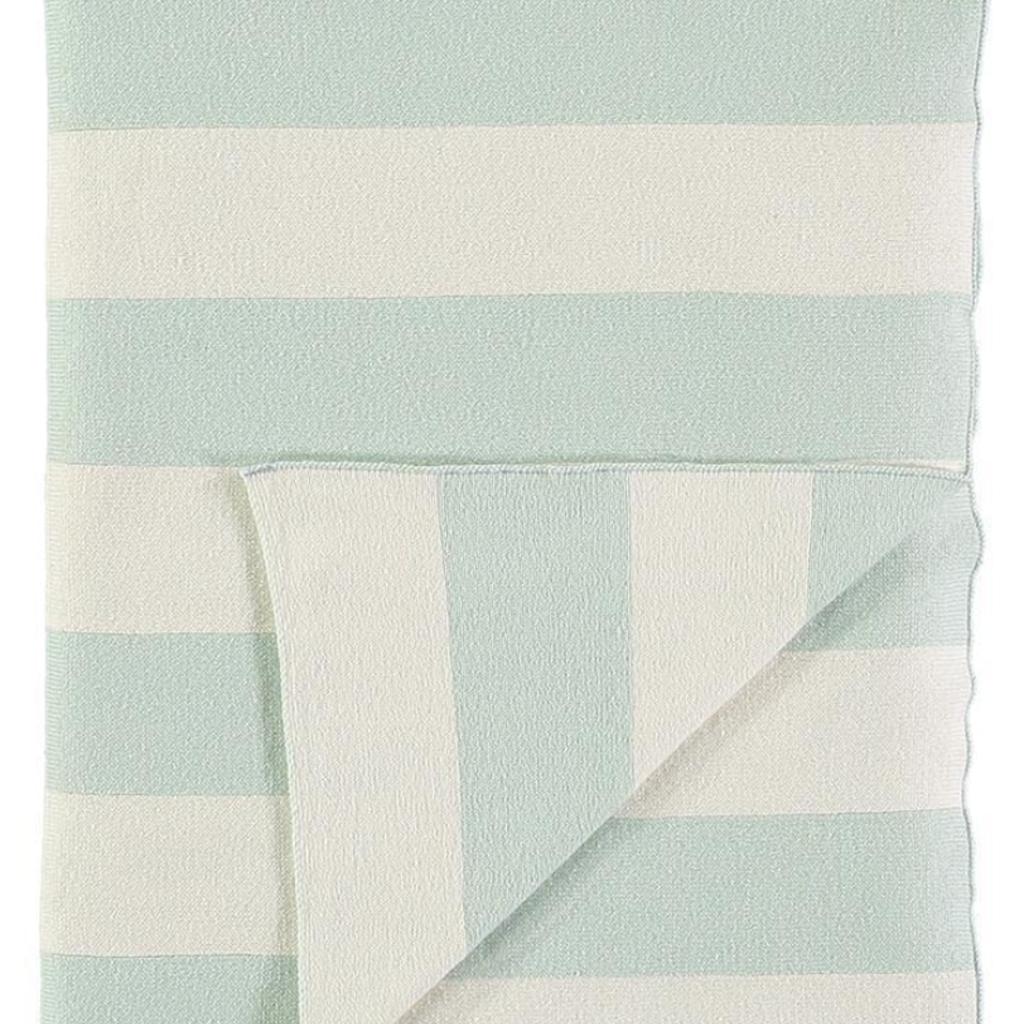 Meri Meri Meri Meri Knitted Blanket Mint/Ivory