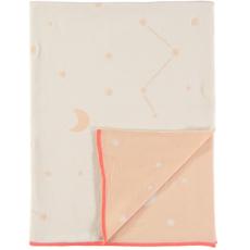Meri Meri Meri Meri Knitted Blanket Pink Constellation