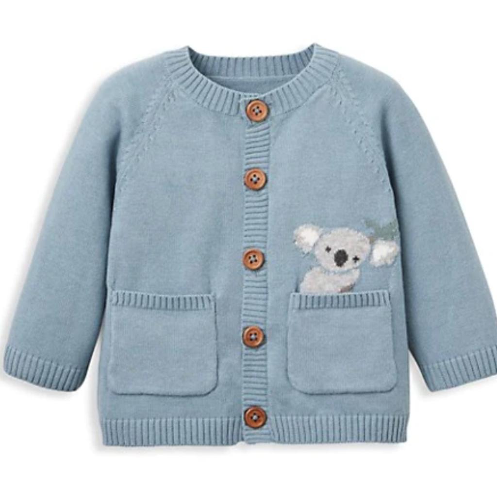 Elegant Baby Elegant Baby Blue Koala Sweater