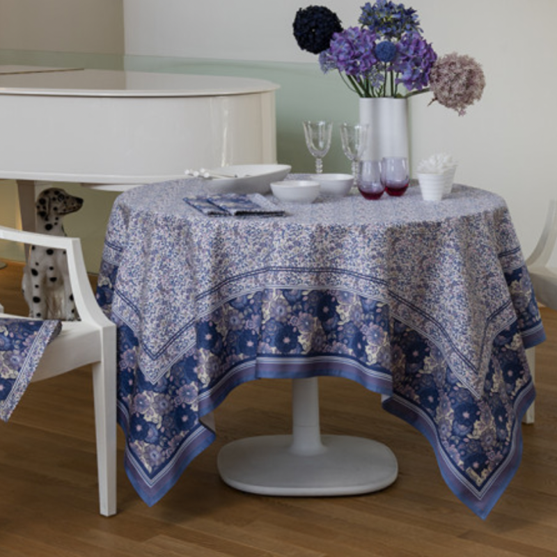 Beauville Beauville Giverny Lavender Tablecloth 67x122