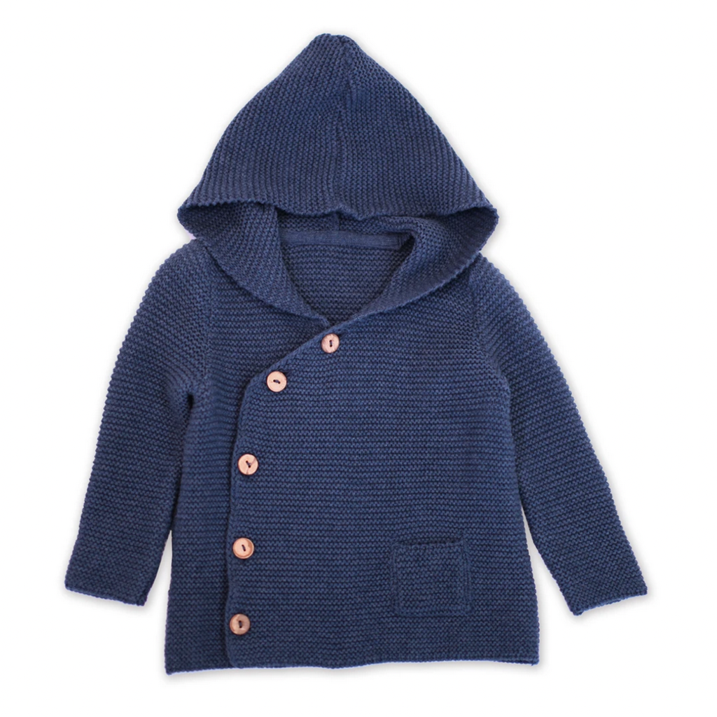 Viverano Viverano Milan Hoodie Knit Coat