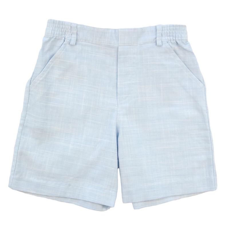 Florence Eiseman Florence Eiseman blue linen shorts