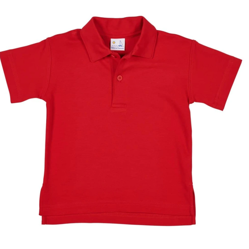 Florence Eiseman Florence Eiseman Shirt Polo Red SS S20