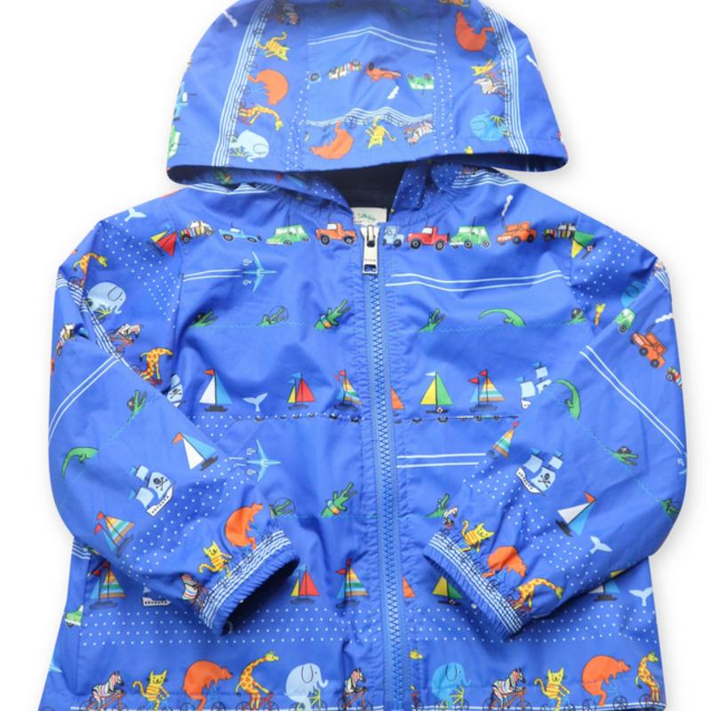 Paul Smith Paul Smith Blue Sailboats Rain Jacket