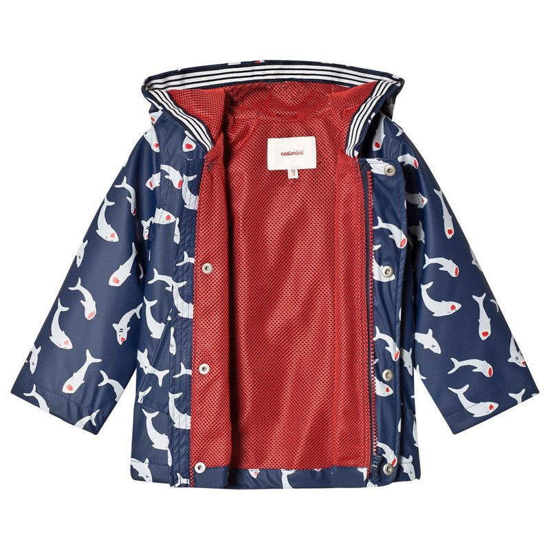 Catimini Catimini Rain Jacket Sharks 2Y