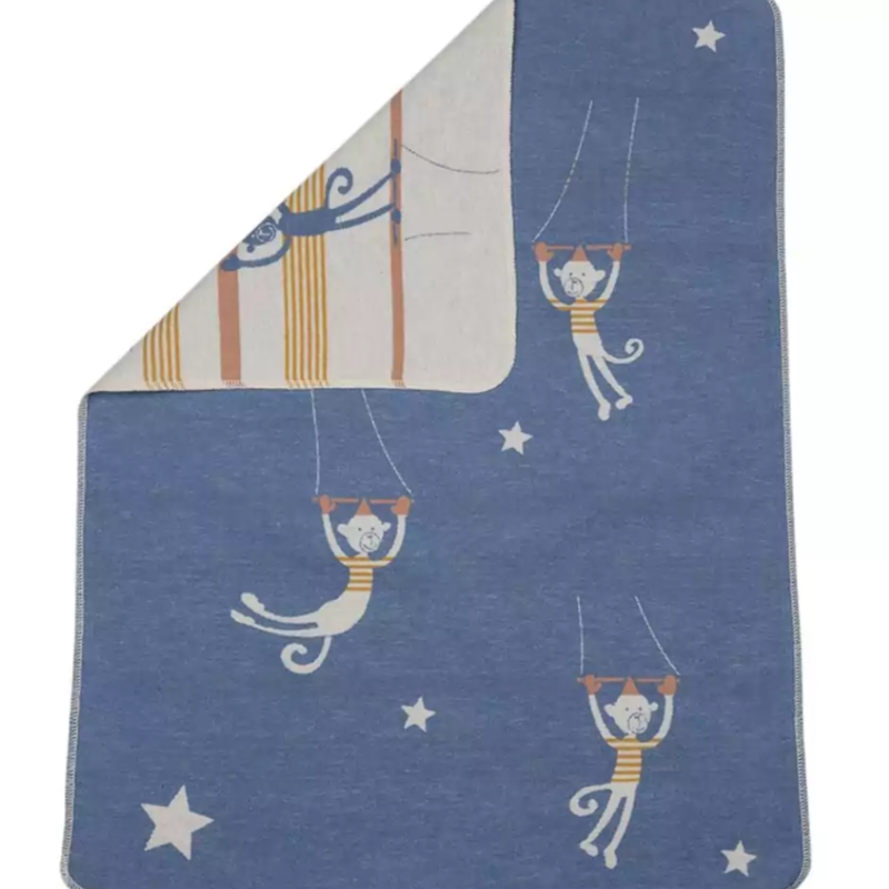 David Fussenegger David Fussenegger Baby Blanket Flying Monkeys