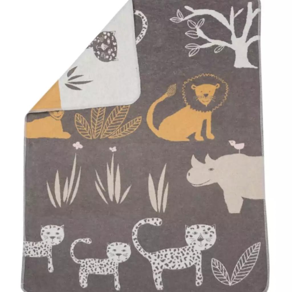 David Fussenegger David Fussenegger Baby Blanket Jungle