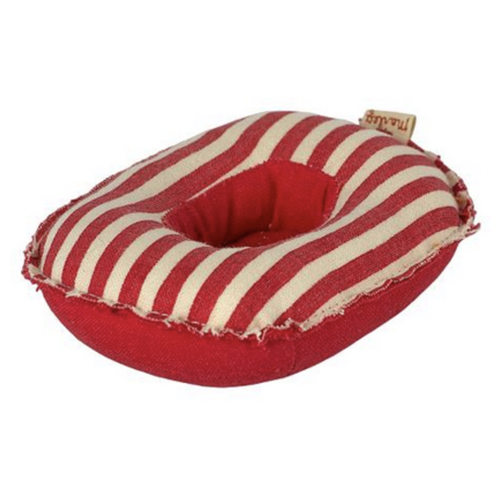 Maileg Maileg Rubber Boat Red Striped