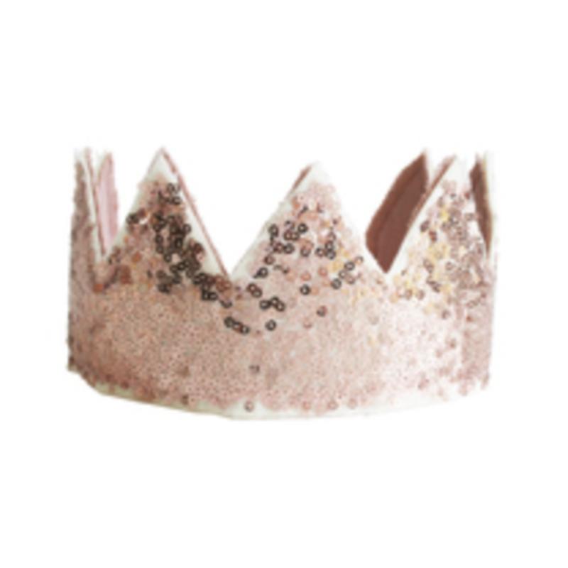 Alimrose Alimrose Pink Sequin Crown