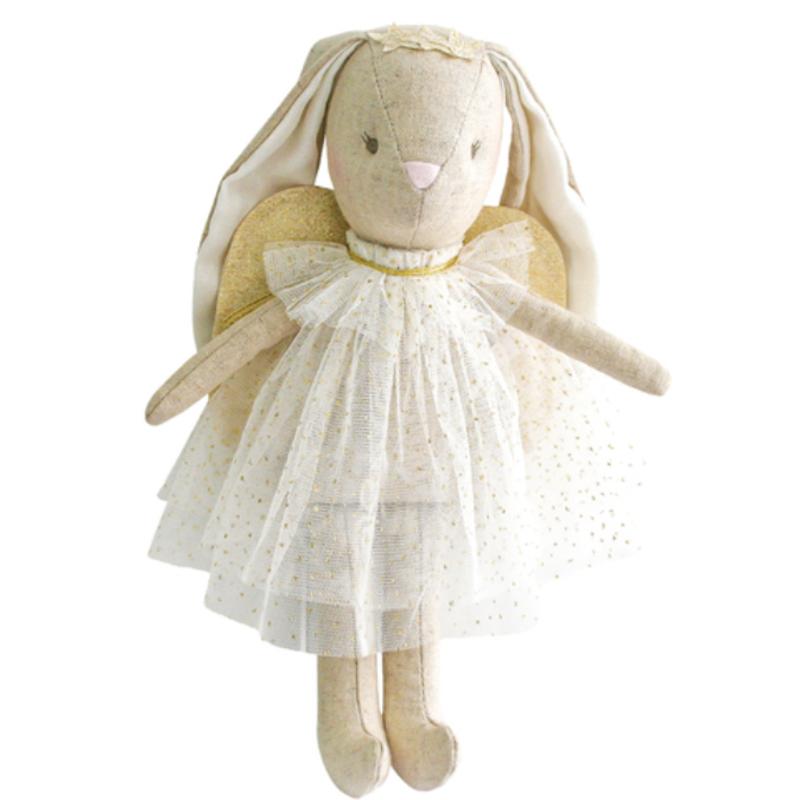 Alimrose Alimrose Mini Angel Bunny Ivory