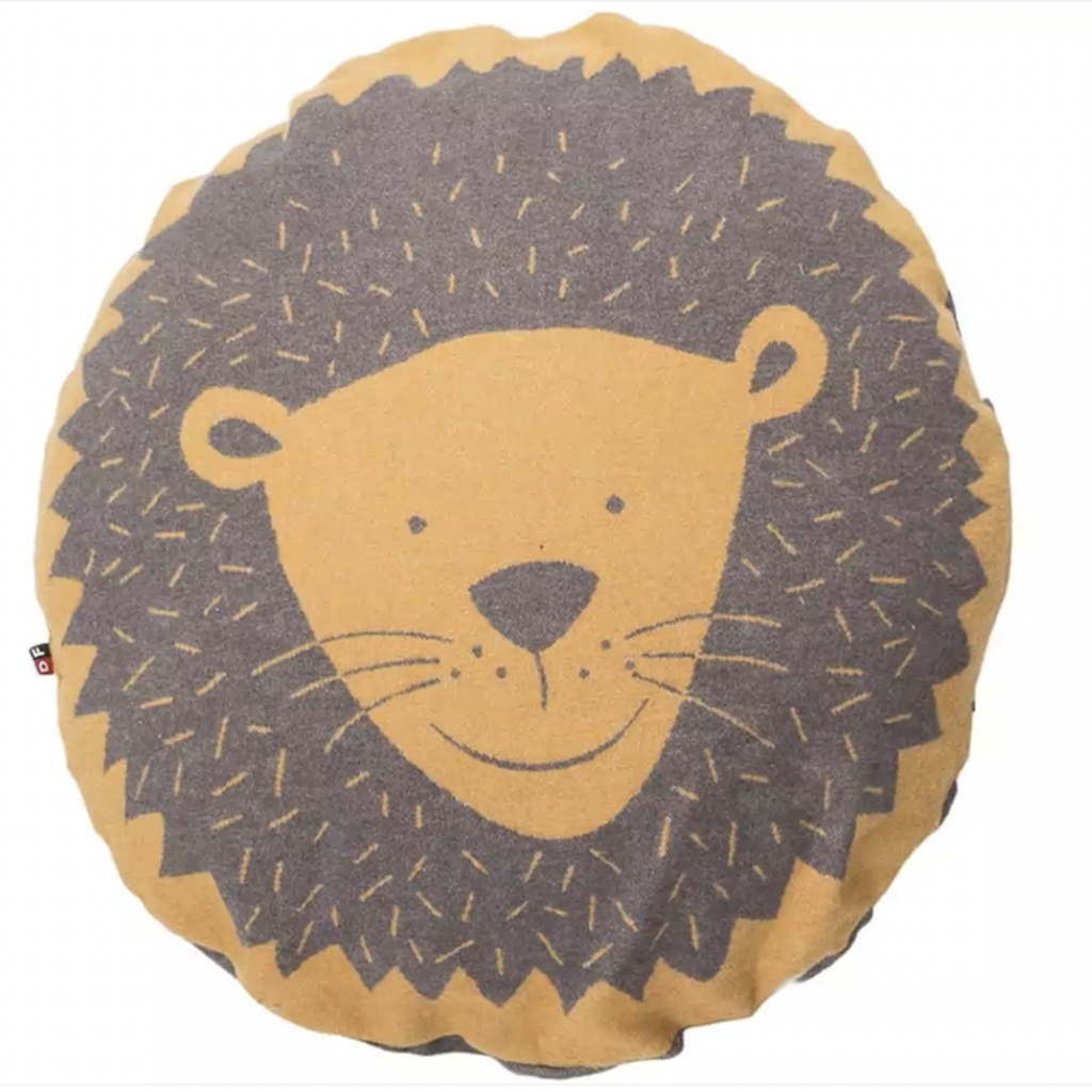 David Fussenegger David Fussenegger Stuffed Cushion Lion Head