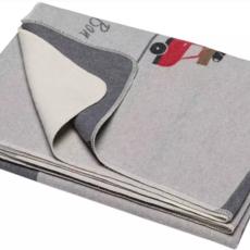 David Fussenegger David Fussenegger Silvretta 'Bon Voyage' Grey Blanket