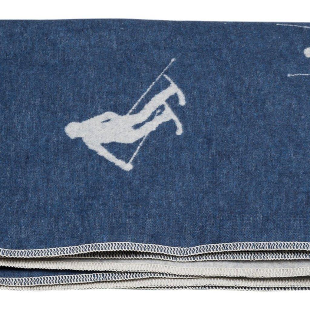 David Fussenegger David Fussenegger Blanket Silvretta Skiers Blue