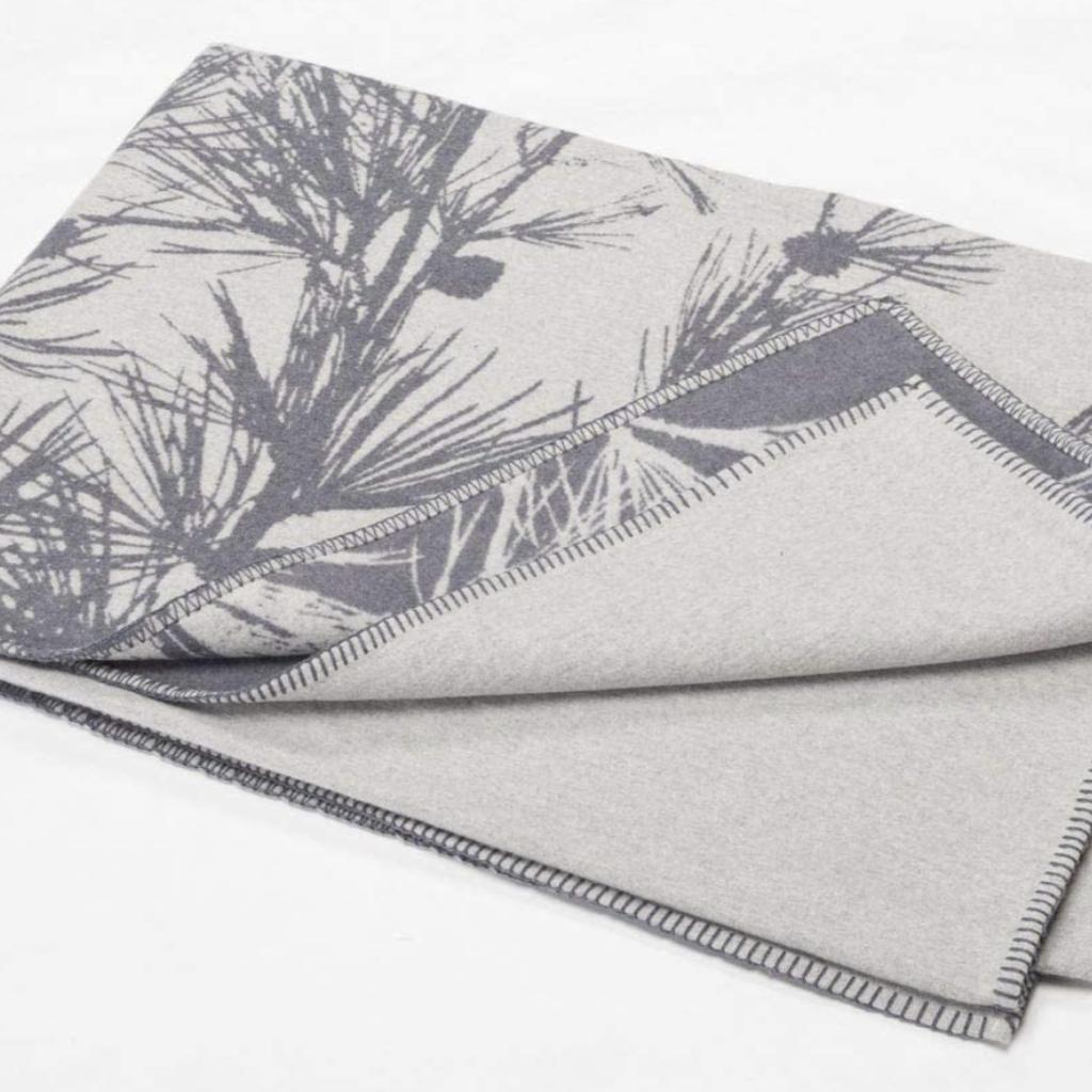 David Fussenegger David Fussenegger Sylt Blanket 'Grey Twigs'