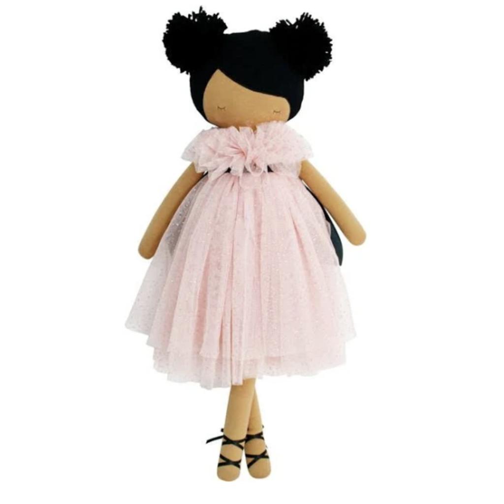 Alimrose Alimrose Valentina Pom Pom Pink Sparkle Doll