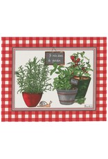Beauville BV Coated Placemat Potager