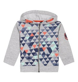 3 Pommes 3P Hoodie Triangles S18