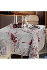 "Beauville BV Tablecloth Caucas e 67""x122"" Pearl"