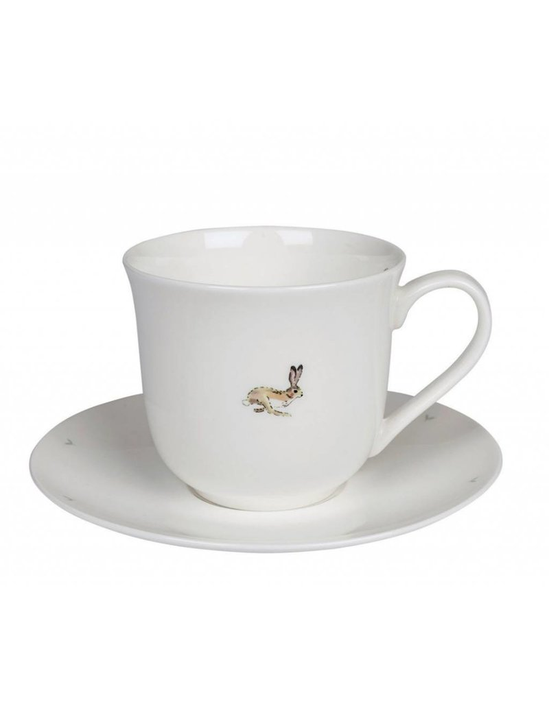 not tracked Allport Large Teacup & Saucer Hare