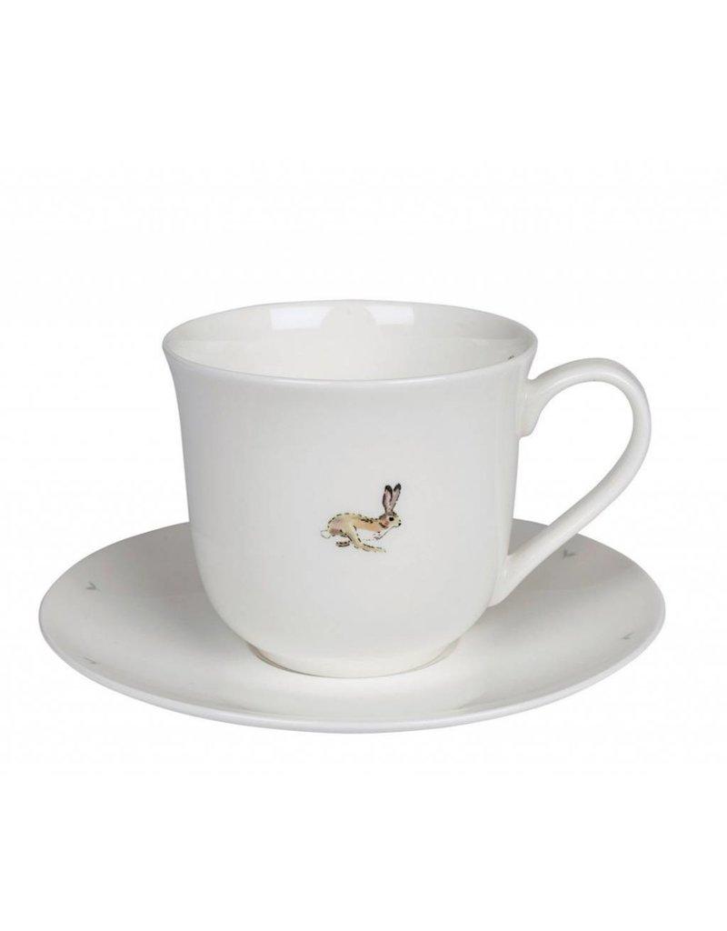 Sophie Allport Allport Large Teacup & Saucer Hare