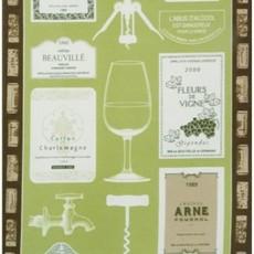 Beauville Beauville Dishtowel Bouchons green