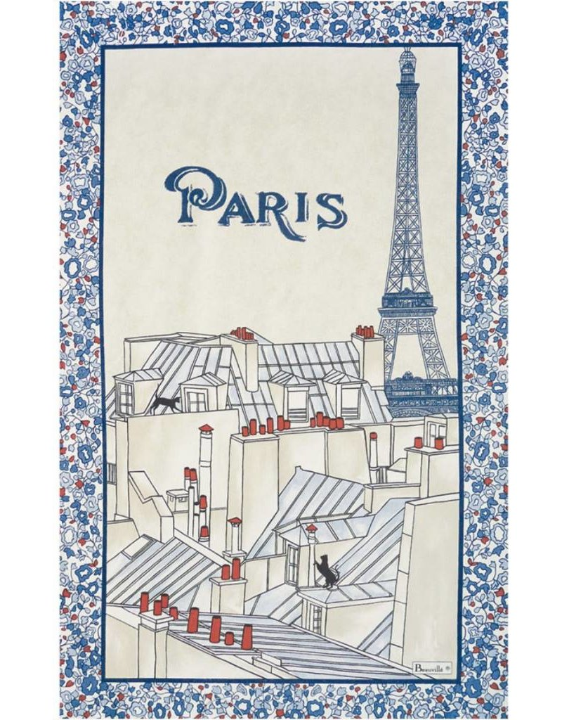 Beauville BV dishtowel Toits de Paris