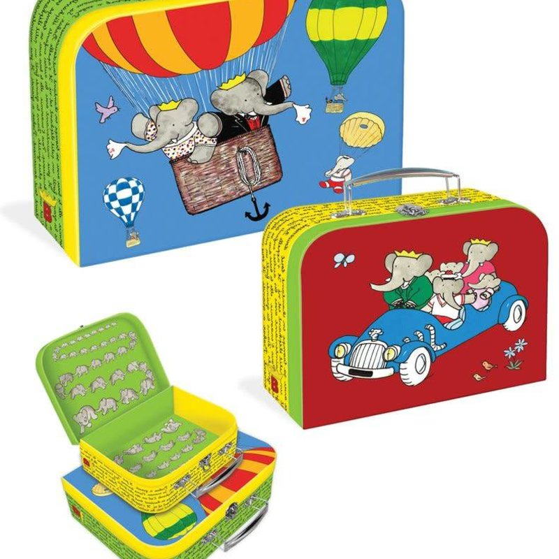 Yottoy Babar Suitcase set/2