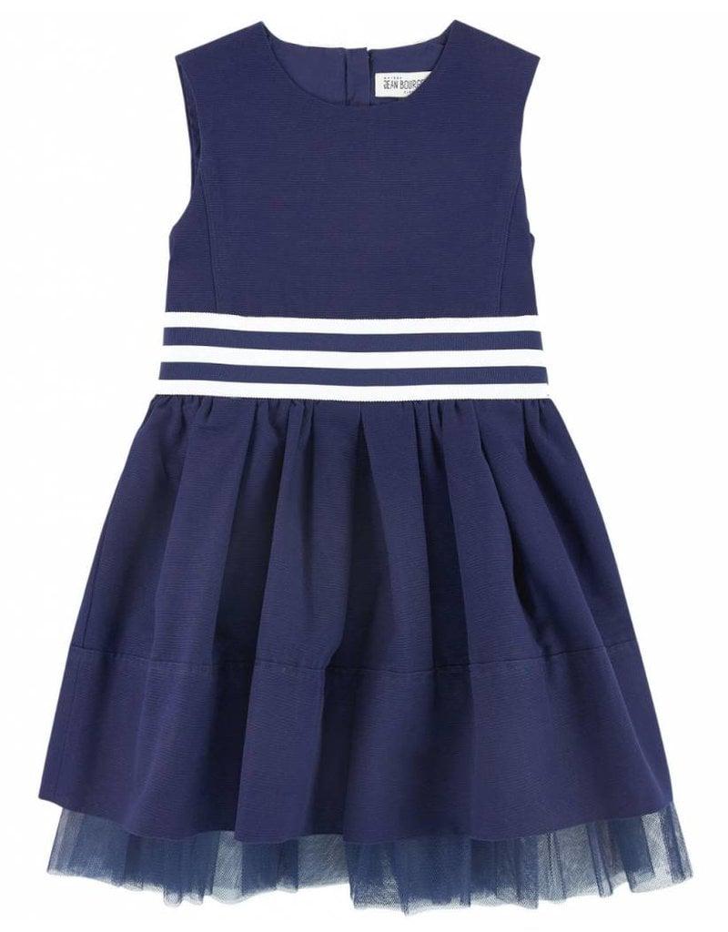 Jean Bourget Jean Bourget Dress Navy Raye