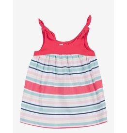 Jean Bourget JB Dress Baby Coral Stripe