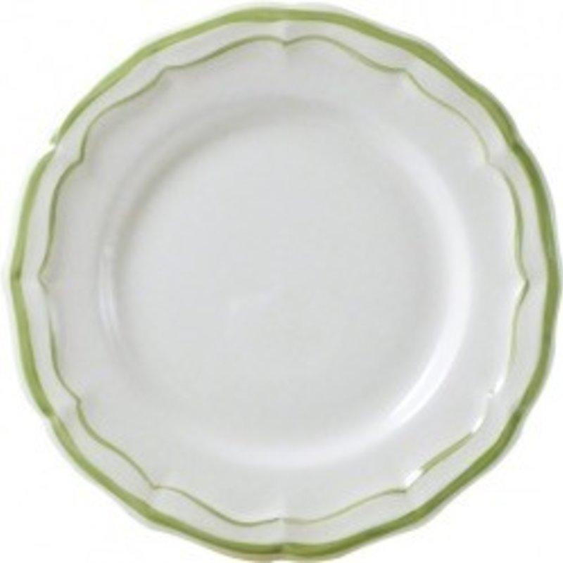 Gien Filet Vert Dessert Plate