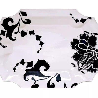 Gien Gien Indigo Cake Platter, Rectangular