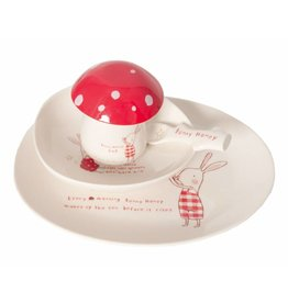 Maileg MAILEG 6 Piece Melamine Bunny Honey