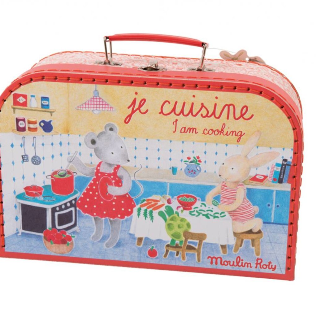 Magic Forest Moulin Roty Je Cuisine Suitcase