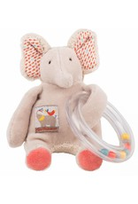 Moulin Roty Moulin Roty Elelphant Ring Bead Rattle