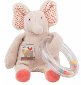 Moulin Roty MR Elelphant Ring Bead Rattle